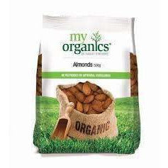 My Organics Almonds 500g