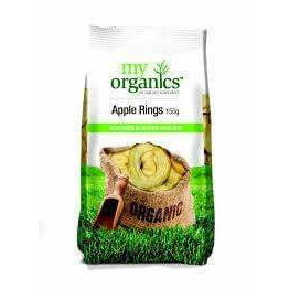 My Organics Apple Rings 150g