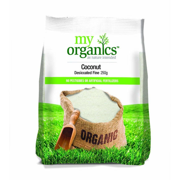 My Organics Desiccated Coconut 250g