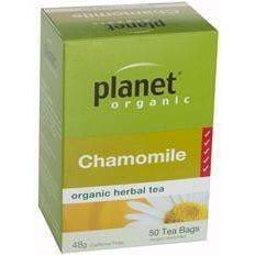 Planet Organic Chamomile 50 Tea Bags