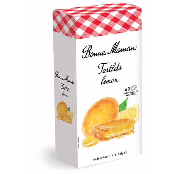 Bonne Maman Tartlets Lemon x9 - 125g