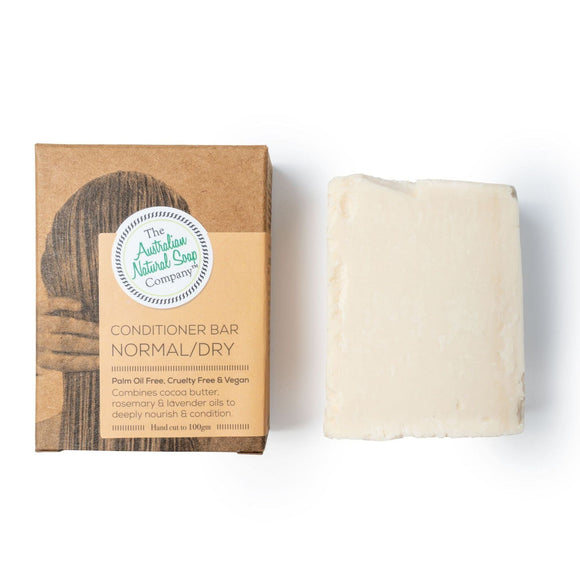 The Aust. Natural Soap Company Conditioner Bar Normal/Dry 100g