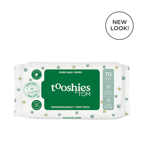 Tooshies by TOM Baby Wipes - 70s x 4pkts
