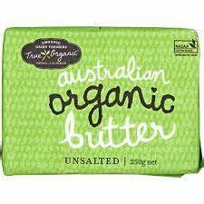 True Organic Unsalted Butter 250g