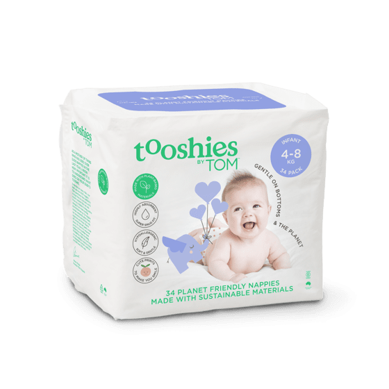 Tooshies by TOM Infant 34 pack
