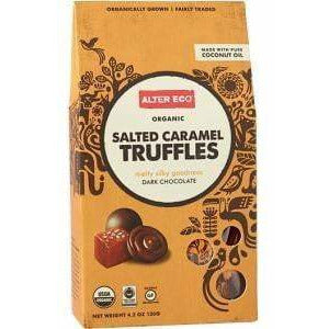 Alter Eco Dark Chocolate Salted Caramel Truffles 108g