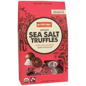 Alter Eco Dark Chocolate Sea Salt Truffles 108g