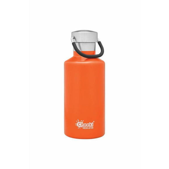 Cheeki Stainless Steel Insulated Bottle ORANGE 400ml
