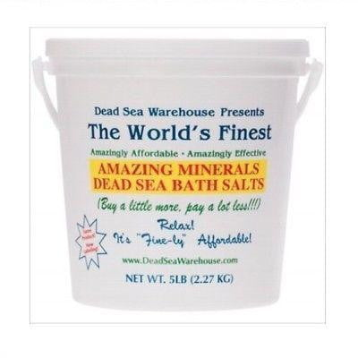 Dead Sea Warehouse Bath Salts Bucket 2.27kg