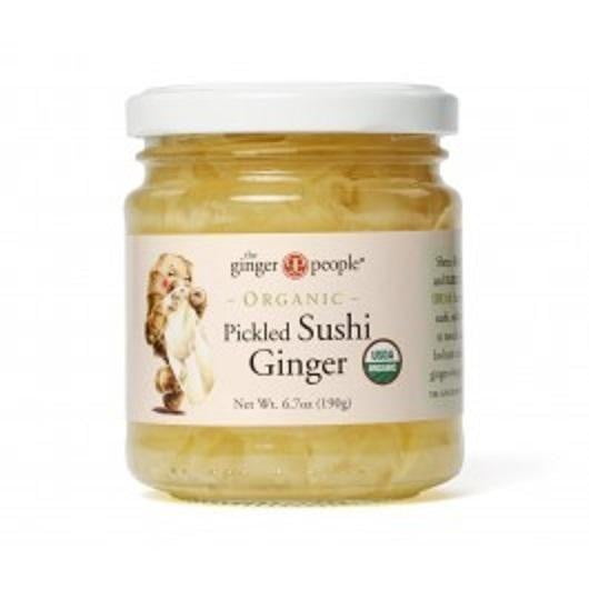 The Ginger People Organic Pickled Sushi Ginger 190g My Home Pantry