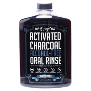 My Magic Mud Activated Charcoal Oral Rinse Mint 420ml