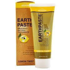 Redmond Clay Earthpaste Toothpaste Lemon Twist For KIds of All Ages 113g
