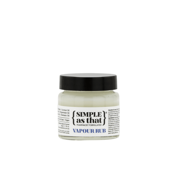 Simple AS That Vapour Rub 50g