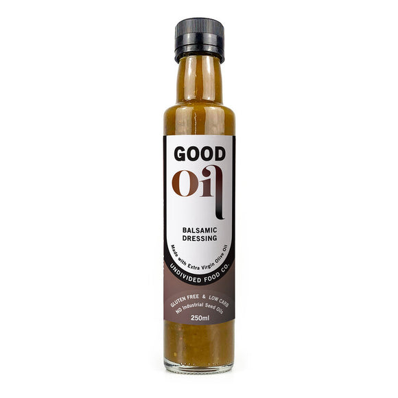Good Oil Salad Dressing Balsamic 250ml