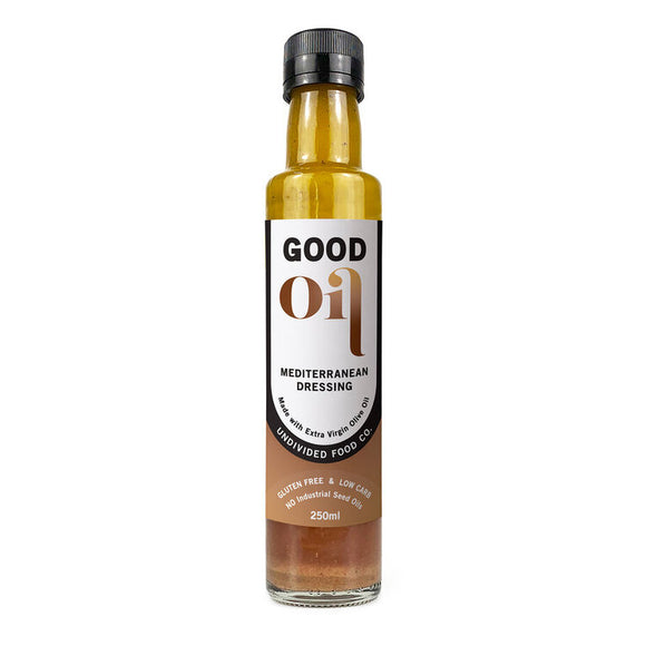 Good Oil Salad Dressing Mediterranean 250ml