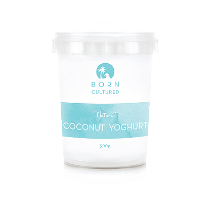 Born Cultured Organic Coconut Yoghurt Natural 500g