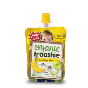 Whole Kids Organic Frooshie Banana Apple - 90g