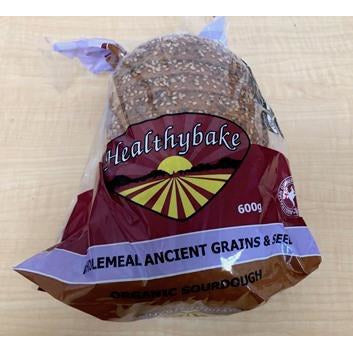 Organic Sourdough Wholemeal Ancient Grains & Seed Bread - 600g