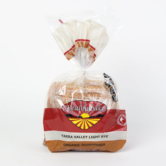 Organic Sourdough Yarra Valley Light Rye - 700g