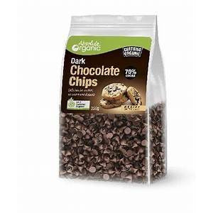 Absolute Organic Fairtrade Chocolate Chips 70% 350g