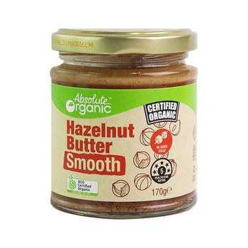 Absolute Organic Hazelnut Butter Smooth 175g