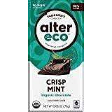 Alter Eco Dark Crisp Mint Organic Chocolate 90% Cocoa 75g