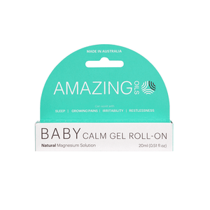 Amazing Oils Magnesium Baby Calm Gel Roll-On 20ml