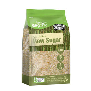 Absolute Organic Raw Sugar (Australian) 700g