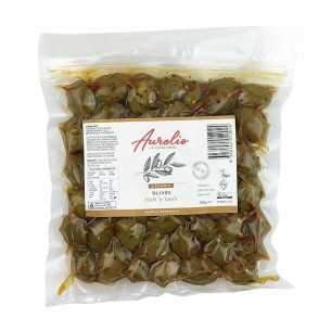 **Aurelio Organic Chilli Garlic Olives 300g