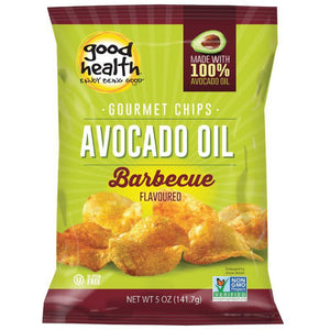 Good Health Snacks: Avocado Oil Potato Chips Barcelona BBQ 142g