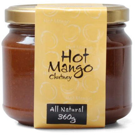 Beechworth Preserves Hot Mango Chutney 360g