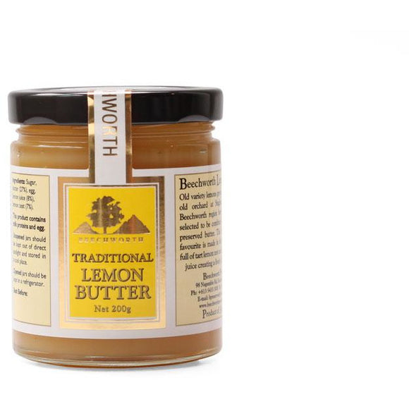 Beechworth Preserves Traditional Lemon Butter 200g