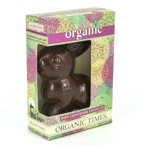 Organic Times Easter Bunny DARK 70g