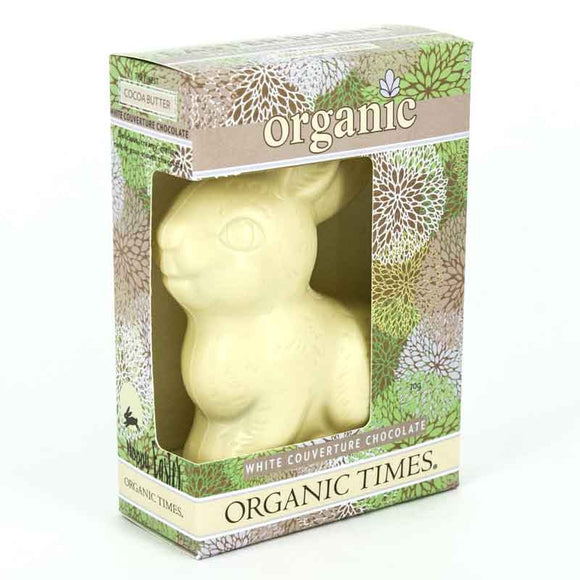 Organic Times Easter Bunny WHITE 70g