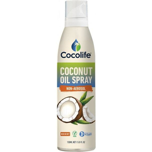 Coconut Oil Spray Non-Aerosol 150ml