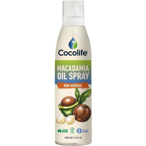 Macadamia Oil Spray Non-Aerosol 150ml