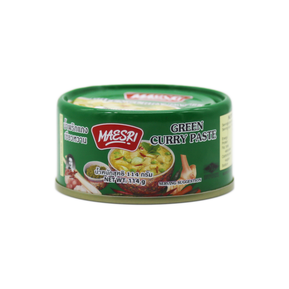 Maesri Green Curry Paste 114g