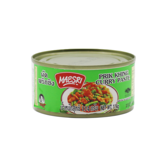 Copy of Maesri Prik King Curry Paste 114g