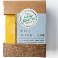 The Aust. Natural Soap Co Dish & Laundry Soap Bar 200g