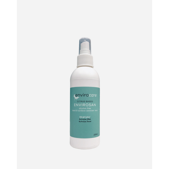 EnviroSensitive Hand & Surface Sanitiser Mist Citrus Based 200ml