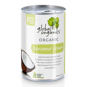 Global Organic Coconut Cream 400g