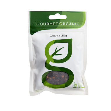 Gourmet Organic Whole Cloves - 30g sachet