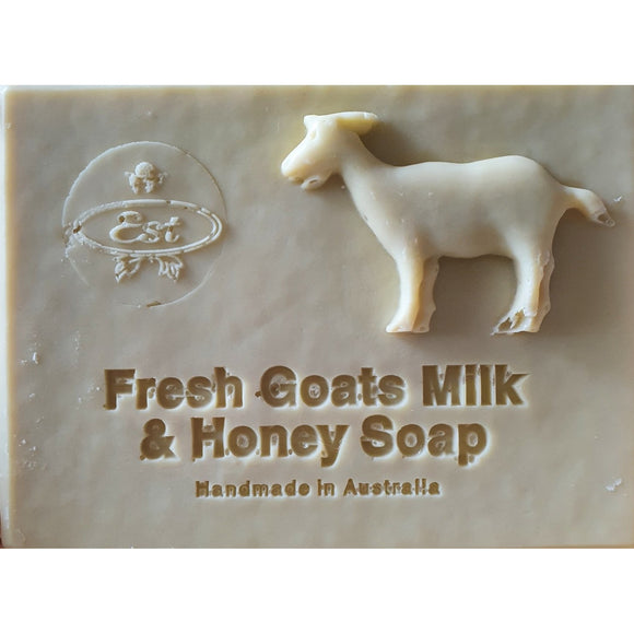 Est Extra Virgin Olive Oil Fresh Goats Milk & Honey Soap 225g