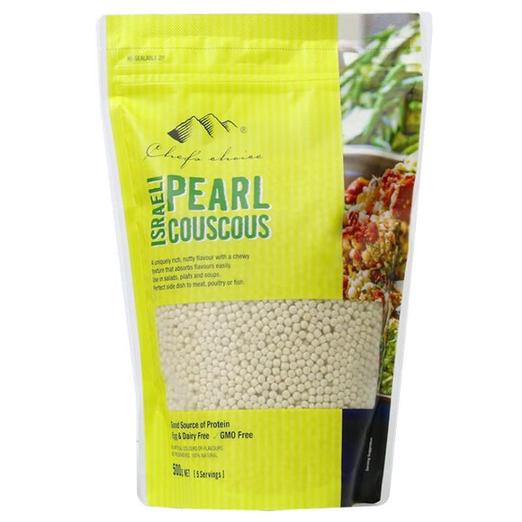 Chef's Choice Organic Israeli Pearl Cous Cous 500g