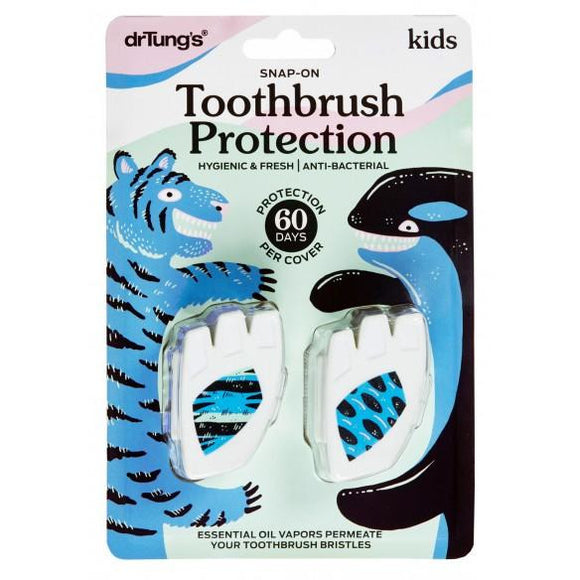 Dr Tung's Kid's Snap-On Toothbrush Protection