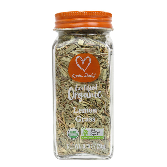 Lovin' Body Organic Lemon Grass - 20g