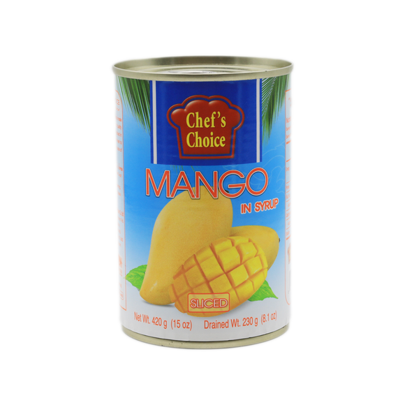 Chef's Choice Sliced Mango In Syrup 420g