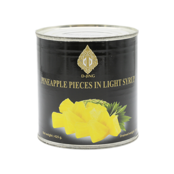 D-Jing Pineapple In Light Syrup 425g