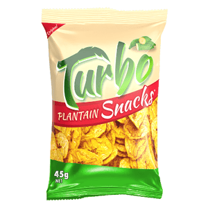 Turbo Plantain Snacks Original 45g