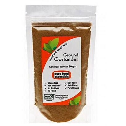 Organic Coriander Ground 80g